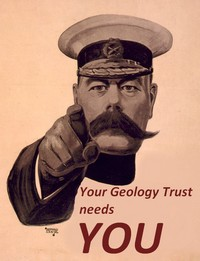 Your Geology Trust needs you